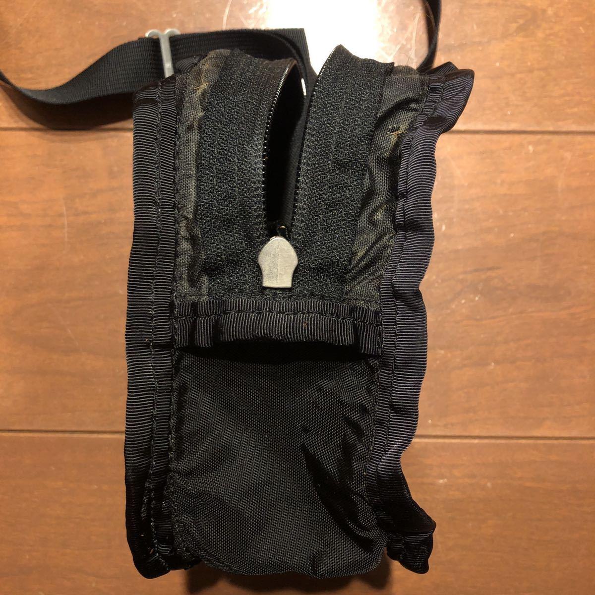 旧タグ USA製 グレゴリー クイックポケットS ブラック ショルダーポーチ ポシェット GREGORY