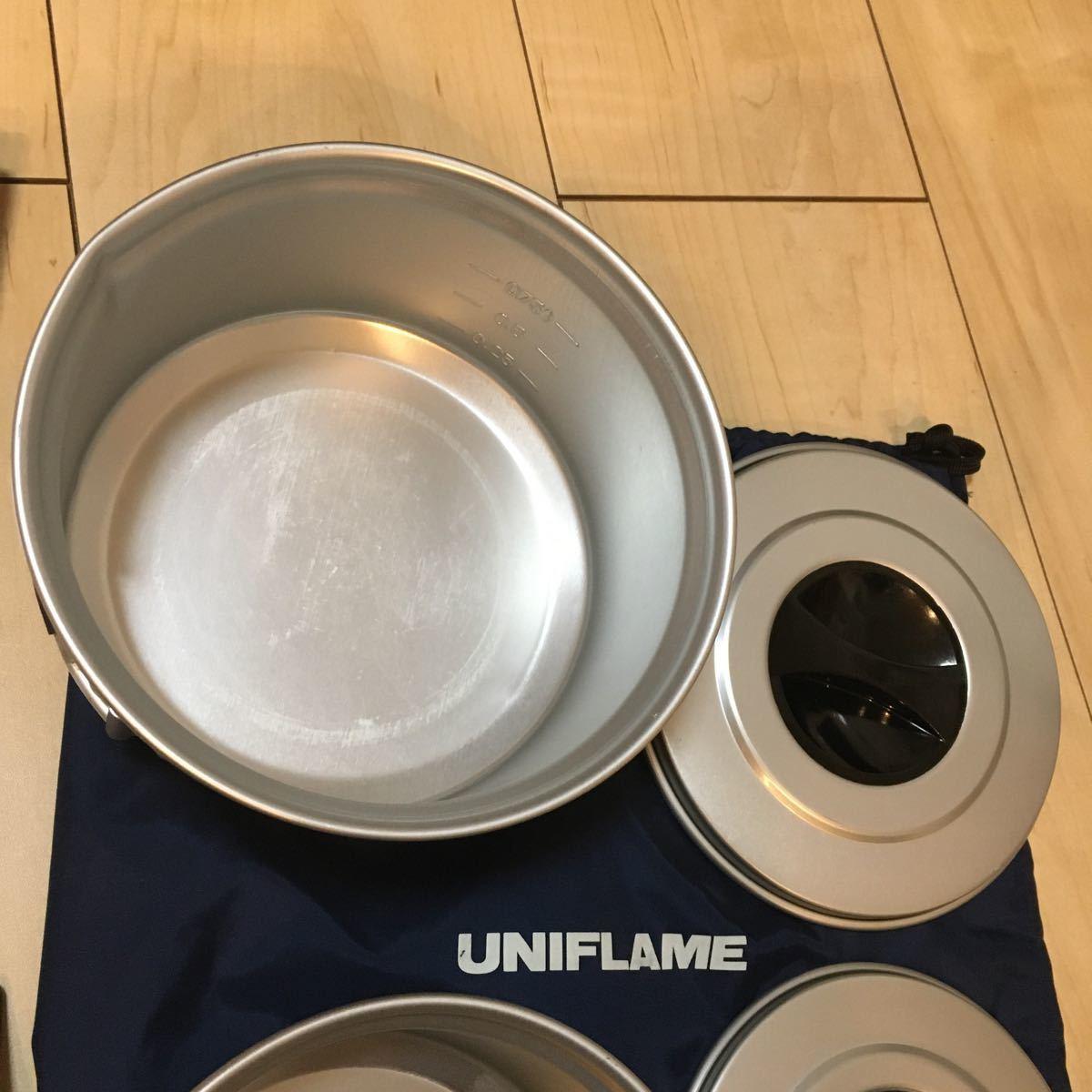 ユニフレーム UNIFLAME ヤマトクッカーS 旧型 キッチンツール 薪バサミ