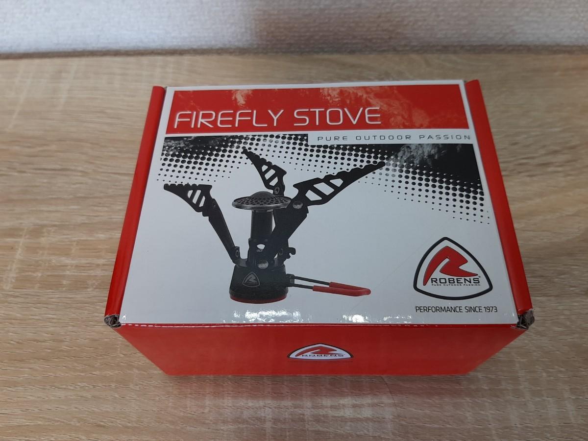 新品 Robens Firefly アウトドア ストーブ 軽量 シングルバーナー