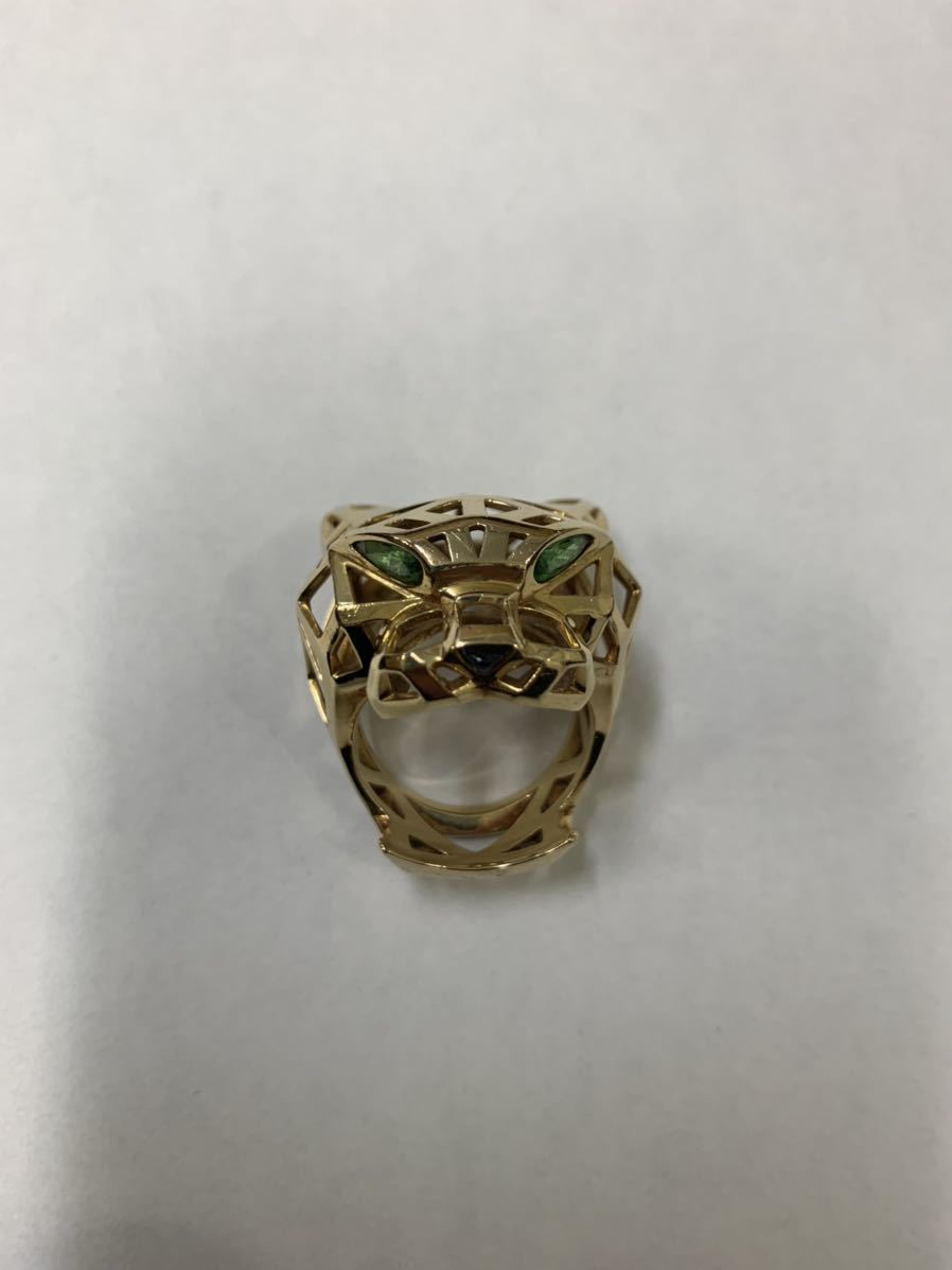 Cartier PANTHERE DE CARTIER RING パンテール ドゥ カルティエ リング イエローゴー