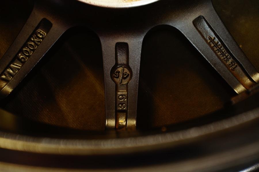 社外品 アルミホイール 5.5JX14 ブラックポリッシュ 4本セット 税込 送料格安 宮城県名取市_画像5