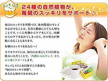 30包 ハーブ健康本舗 モリモリスリム(ほうじ茶風味) (30包)_画像4