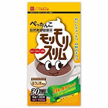 30包 ハーブ健康本舗 モリモリスリム(ほうじ茶風味) (30包)_画像1