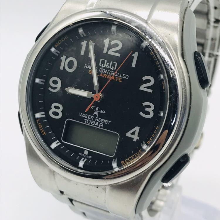 腕時計 Q&Q ソーラー デジタル UP08_画像2