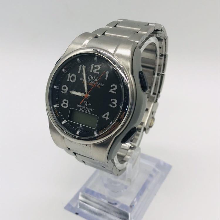 腕時計 Q&Q ソーラー デジタル UP08_画像1