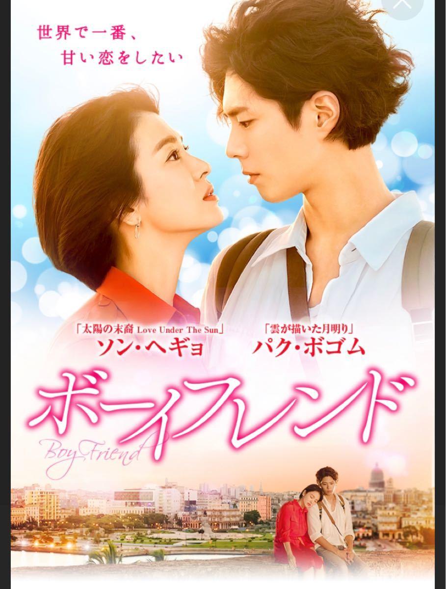 韓国ドラマ  Blu-ray ボーイフレンド パクポゴム 価格交渉不可