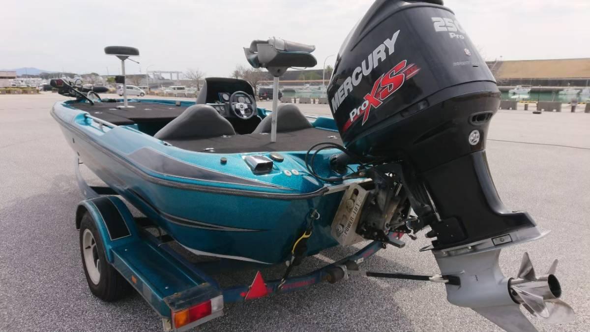 「値引き交渉致します!バスキャット マーキュリーPROxs250馬力 トレーラー車検有り!」の画像3