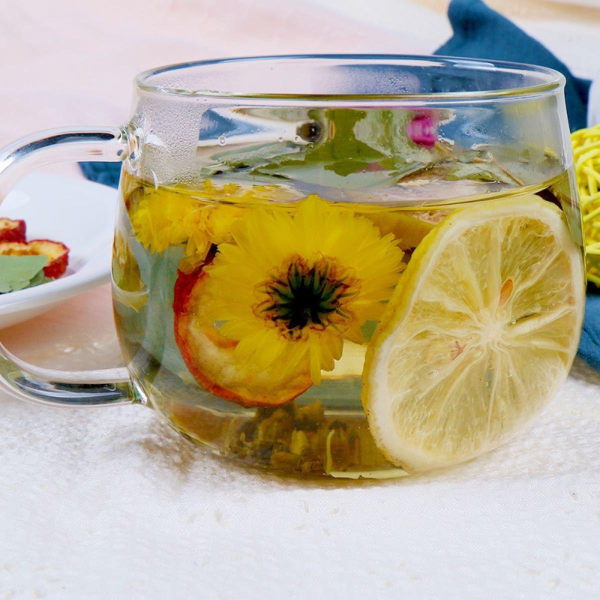 レモン蓮の葉ティー 健康薬膳茶 漢方茶 美容茶 ハーブティー 花茶 中国茶
