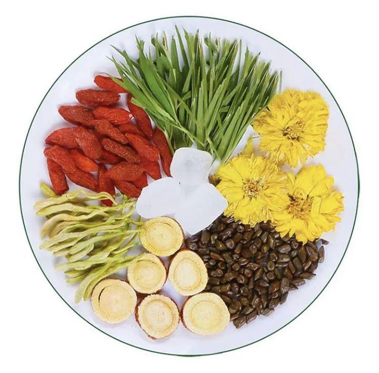 クコの実と菊花のお茶 ハーブティー 健康薬膳茶 漢方茶 美容茶 花茶 中国茶