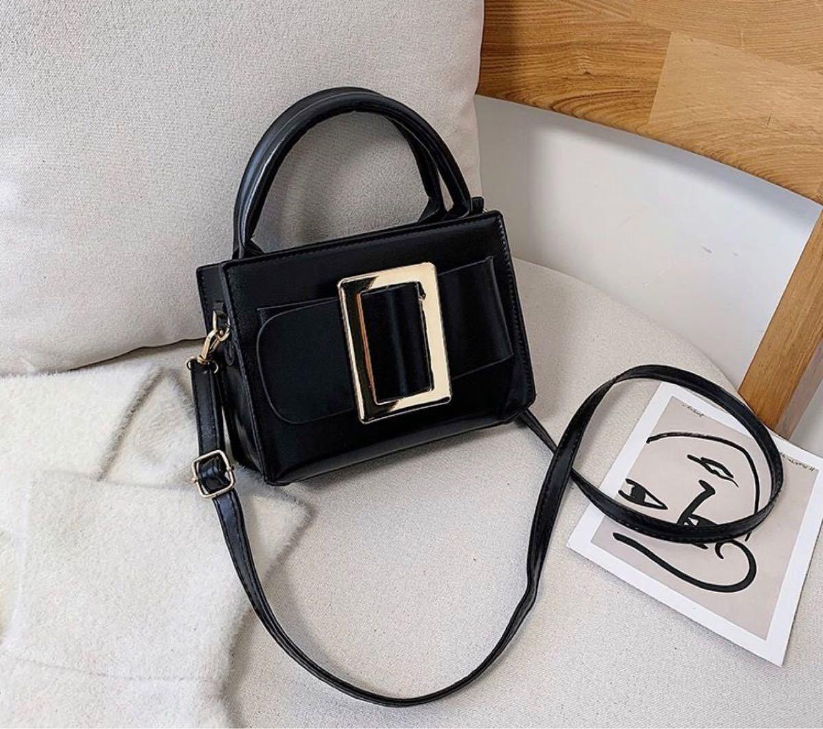 ショルダーバッグ 黒 ブラック 即購入ok レディース 海外 韓国 バッグ ミニバッグ ハンドバッグ 2way