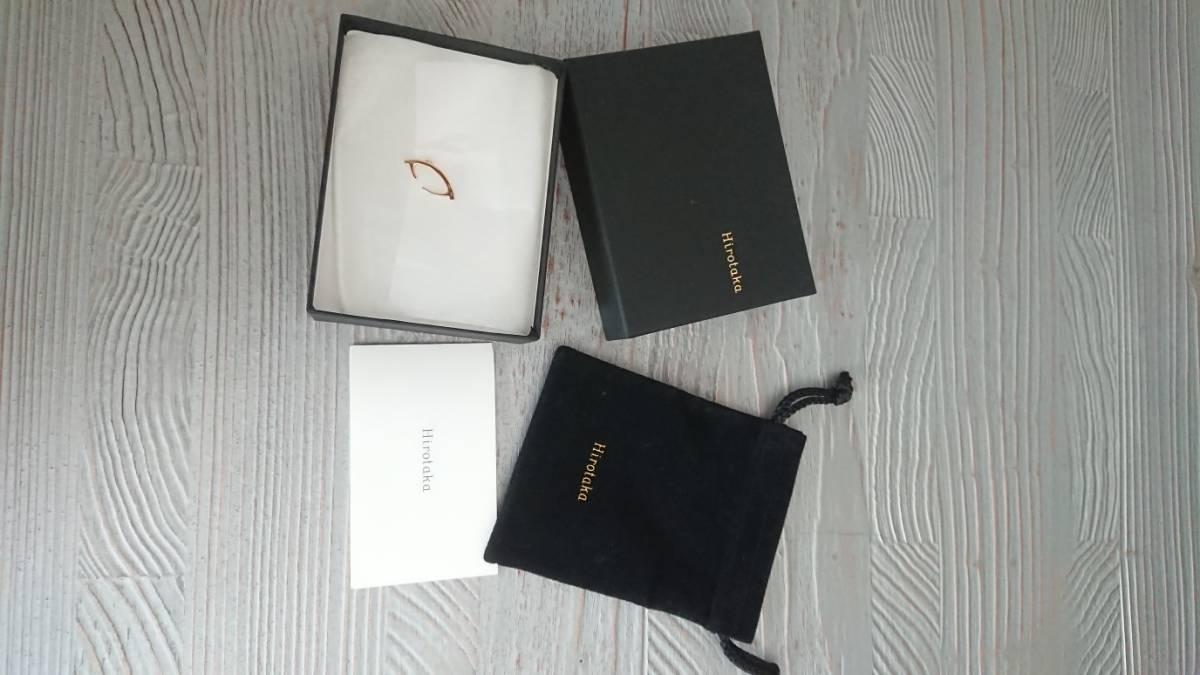 hirotaka イヤーカフ K18 ダイヤモンド  バーニーズ購入_画像1