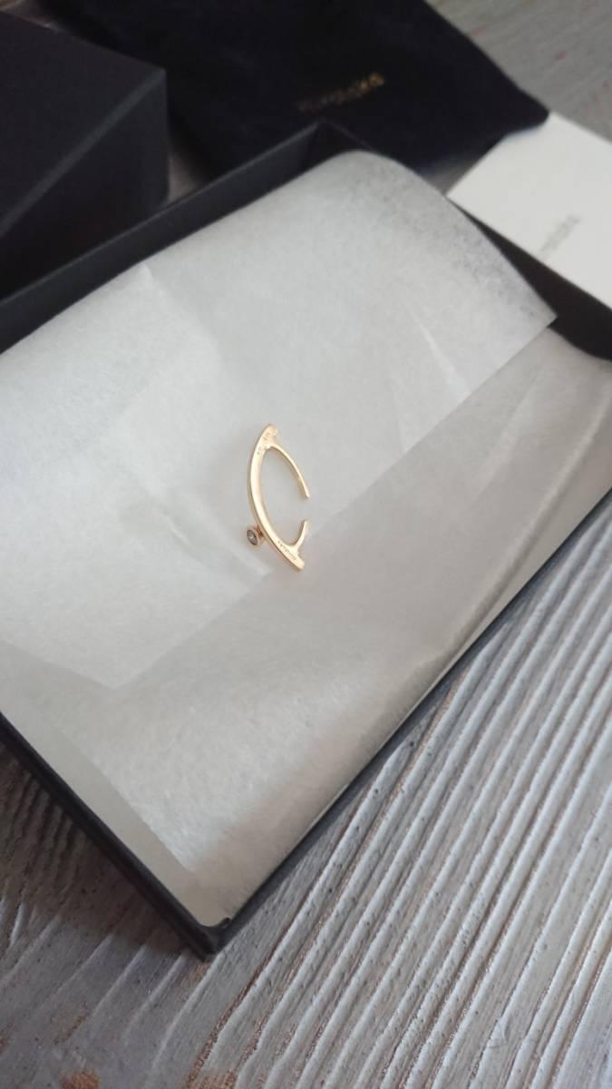 hirotaka イヤーカフ K18 ダイヤモンド  バーニーズ購入_画像2