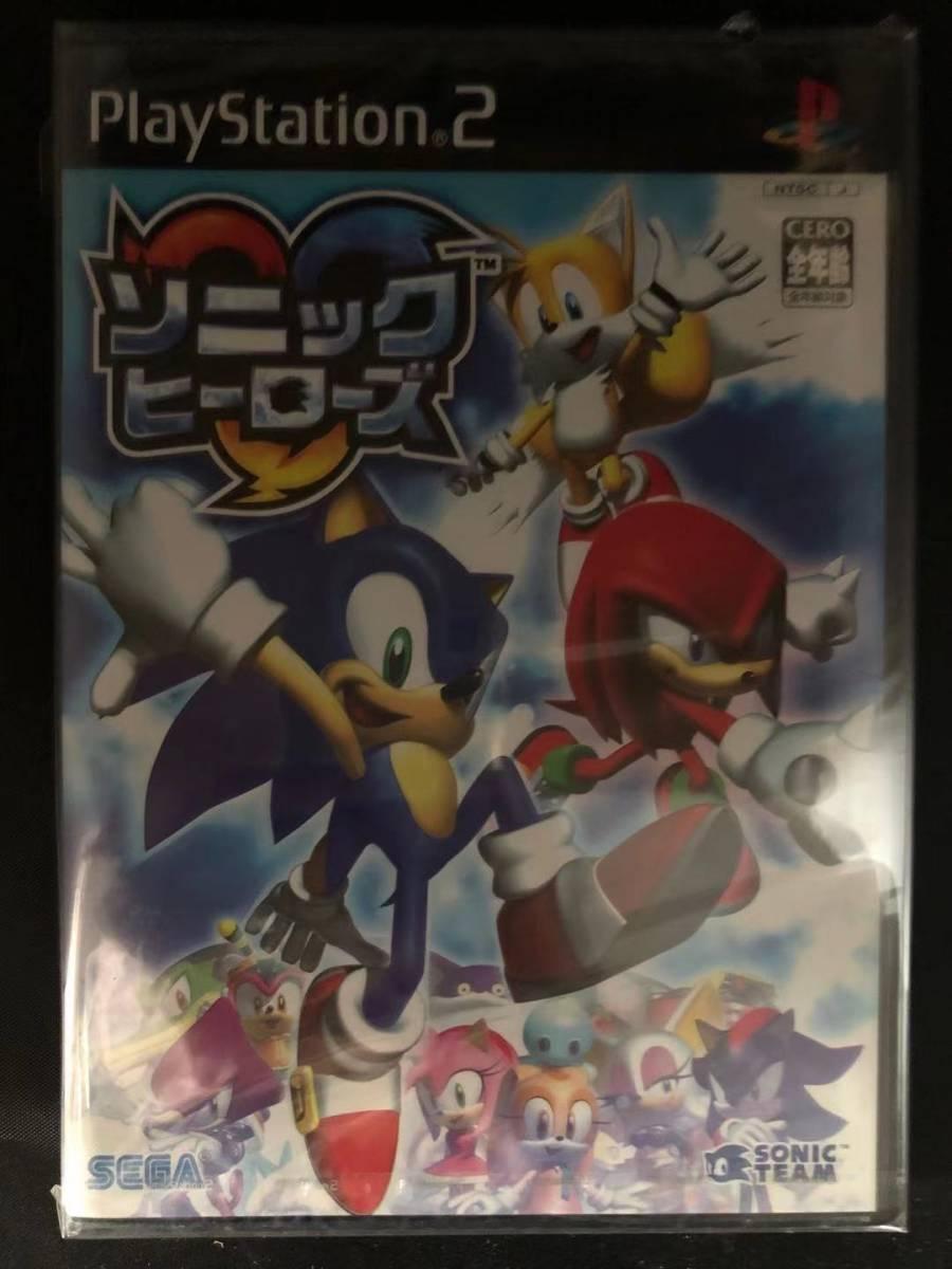 S.ソニックヒーローズ 【PS2-激レア-未開封品/未使用品-廃盤】_画像1
