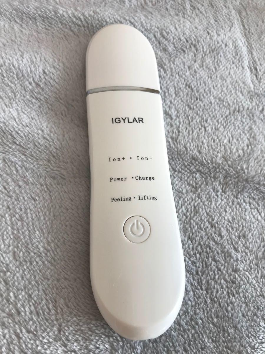 美顔器  ウォーターピーリング EMSマッサージ  イオン導入
