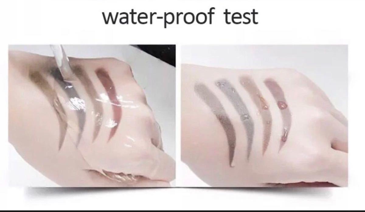 3Dアイブロウペンシル 眉 ペン グレイブラウン ティント 立体眉 防水
