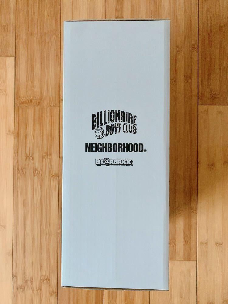 ベアブリック BE@RBRICK BILLIONAIRE BOYS CLUB × NEIGHBORHOOD 400%のみ ビリオネアボーイズクラブ ネイバーフッド_画像7
