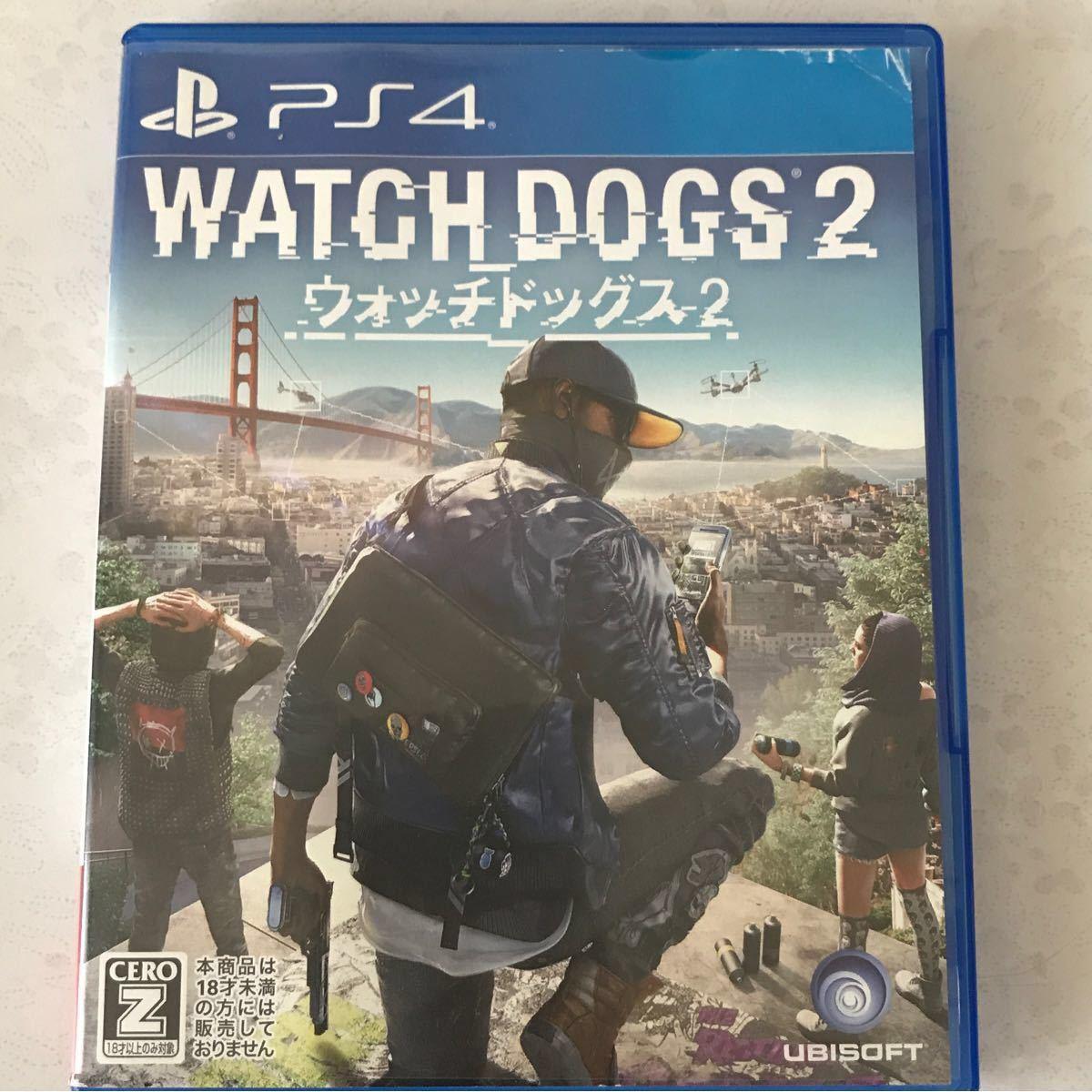 ウォッチドッグス2 PS4 WATCH DOGS