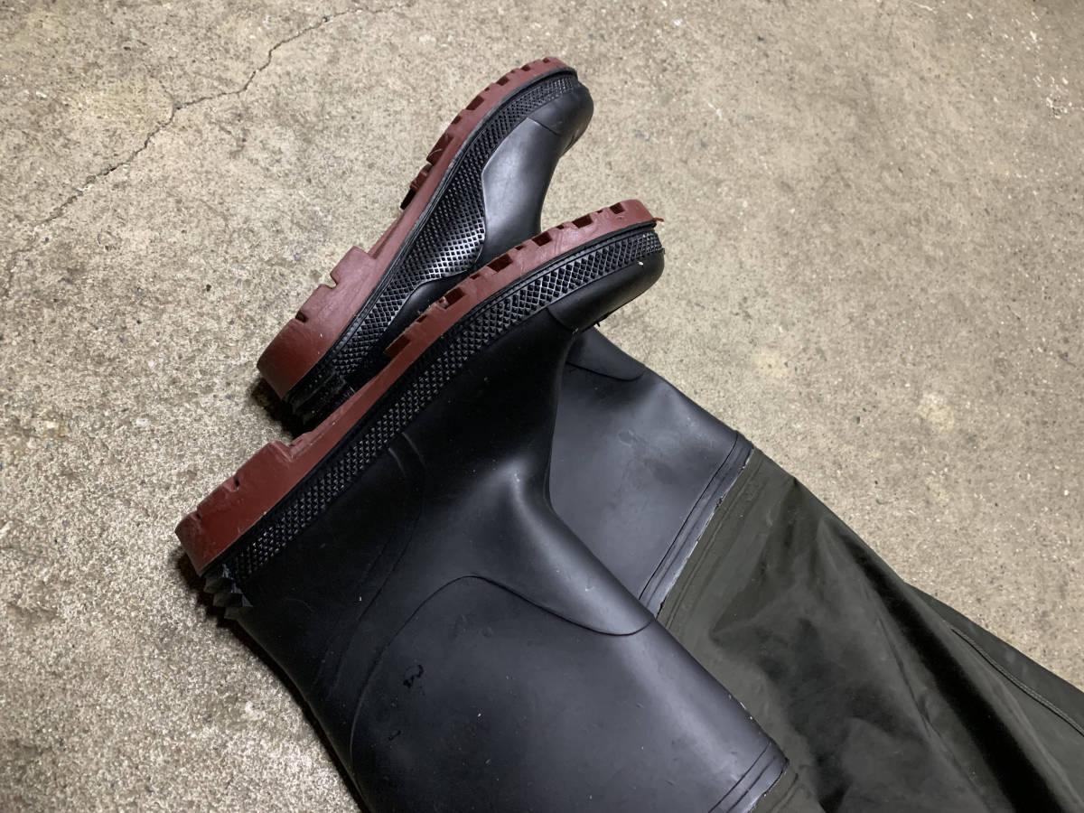 ウェーダー ウエストハイウェーダー 長靴 防水 Frain 美品 検索(ダイワ シマノ プロックス リバレイ)_画像5