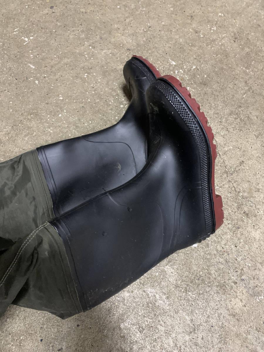 ウェーダー ウエストハイウェーダー 長靴 防水 Frain 美品 検索(ダイワ シマノ プロックス リバレイ)_画像8