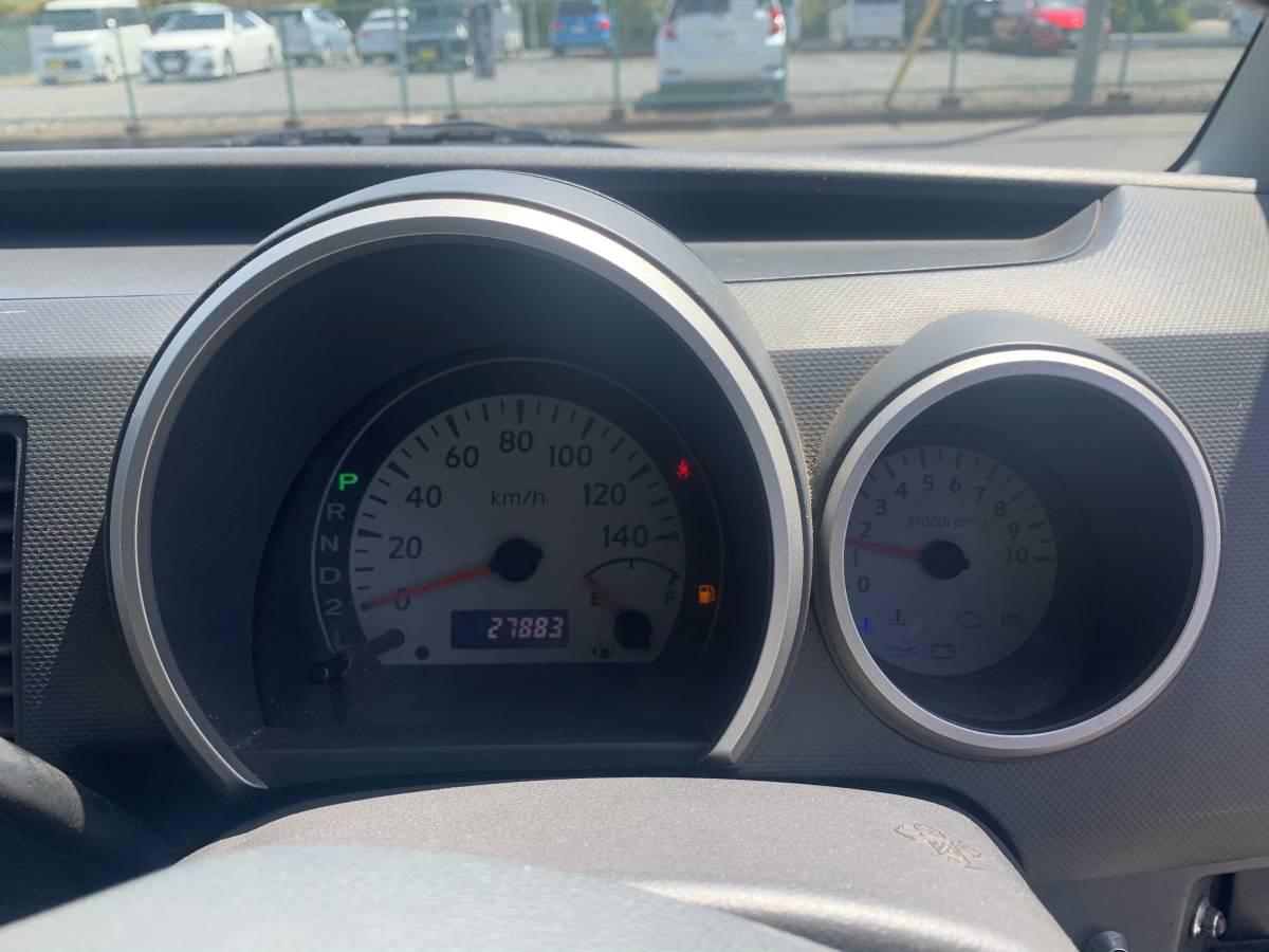 スズキワゴンR 2005年式 走行距離27849キロ     グレードFXリミテッド_メーター周りです