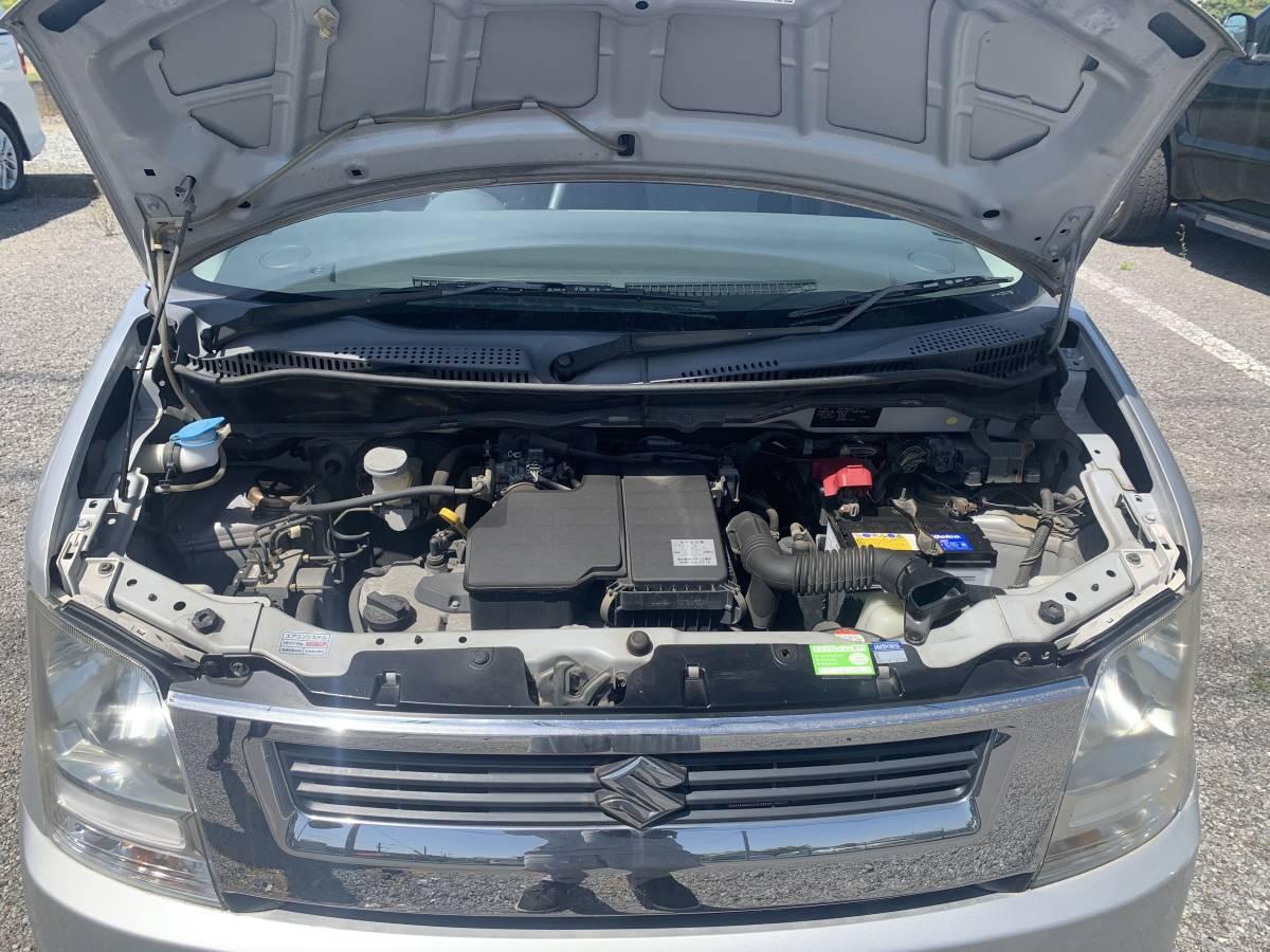 スズキワゴンR 2005年式 走行距離27849キロ     グレードFXリミテッド_エンジンになります