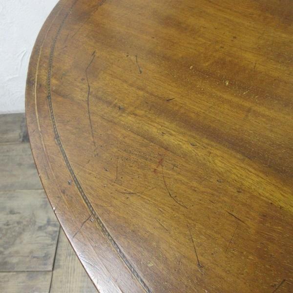 イギリス アンティーク 家具 オケージョナルテーブル サイドテーブル 飾り棚 花台 木製 英国 SMALLTABLE 6801b_画像10