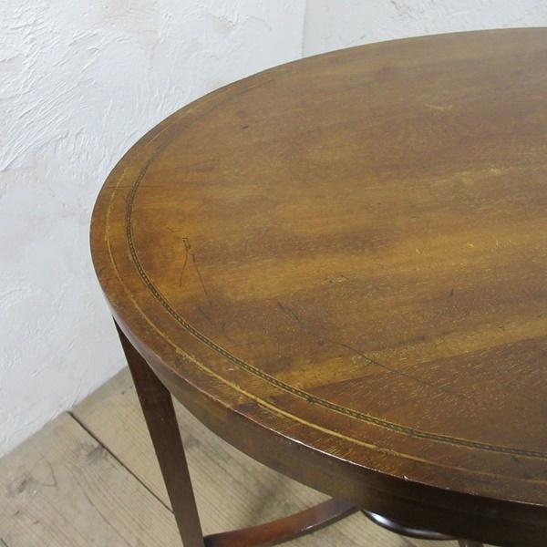 イギリス アンティーク 家具 オケージョナルテーブル サイドテーブル 飾り棚 花台 木製 英国 SMALLTABLE 6801b_画像9