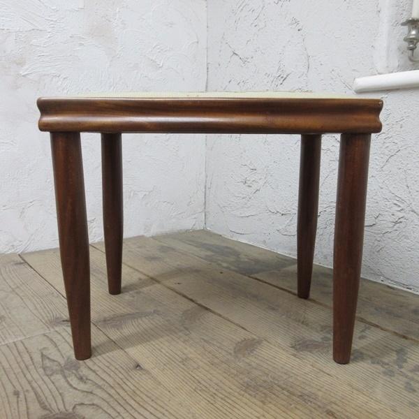 イギリス アンティーク 家具 スツール 椅子 チェア クロスステッチ 木製 英国 OTHERCHAIR 6807b_画像6