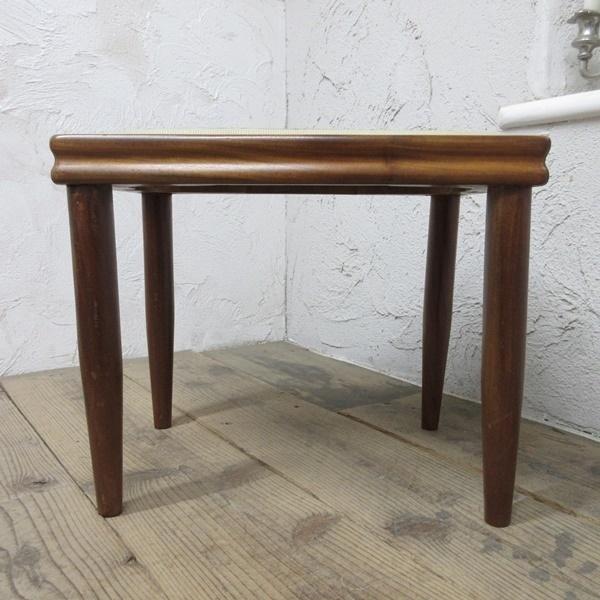 イギリス アンティーク 家具 スツール 椅子 チェア クロスステッチ 木製 英国 OTHERCHAIR 6807b_画像4