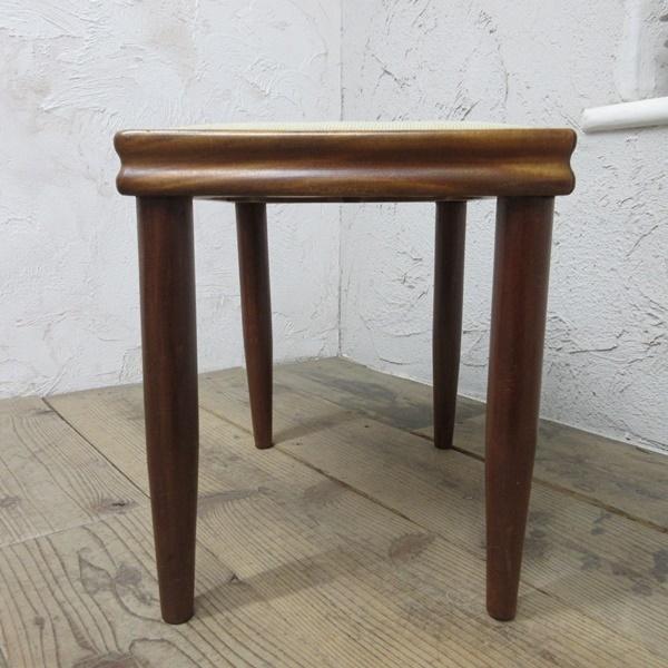 イギリス アンティーク 家具 スツール 椅子 チェア クロスステッチ 木製 英国 OTHERCHAIR 6807b_画像7