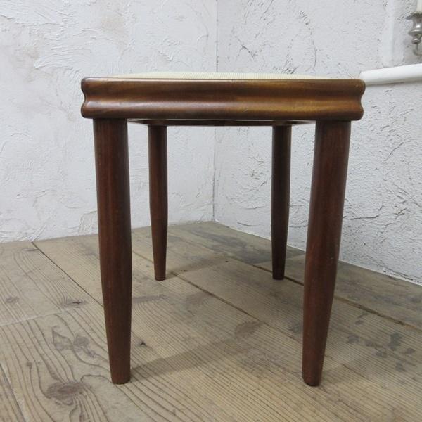 イギリス アンティーク 家具 スツール 椅子 チェア クロスステッチ 木製 英国 OTHERCHAIR 6807b_画像5