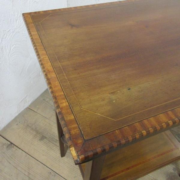 イギリス アンティーク 家具 セール オケージョナルテーブル サイドテーブル 飾り棚 花台 木製 英国 SMALLTABLE 6802b 特価_画像10