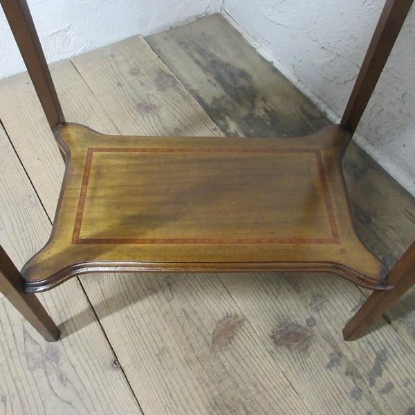 イギリス アンティーク 家具 セール オケージョナルテーブル サイドテーブル 飾り棚 花台 木製 英国 SMALLTABLE 6802b 特価_画像5