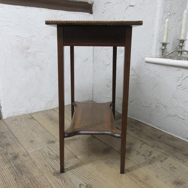イギリス アンティーク 家具 セール オケージョナルテーブル サイドテーブル 飾り棚 花台 木製 英国 SMALLTABLE 6802b 特価_画像7