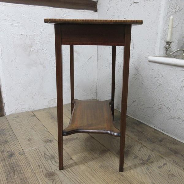 イギリス アンティーク 家具 セール オケージョナルテーブル サイドテーブル 飾り棚 花台 木製 英国 SMALLTABLE 6802b 特価_画像9