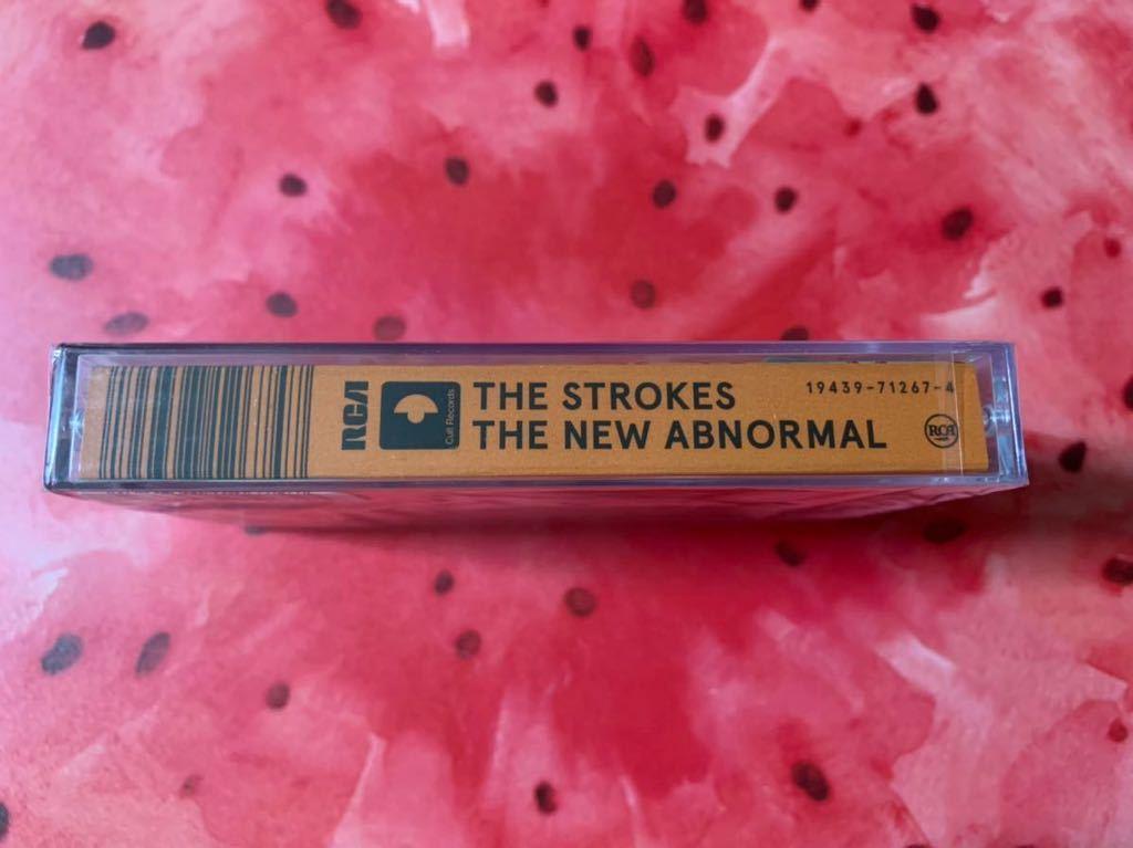 新品未開封 入手困難限定盤 カセットテープ Strokes ストロークス THE NEW ABNORMAL 輸入盤 即決 送料無料_画像3