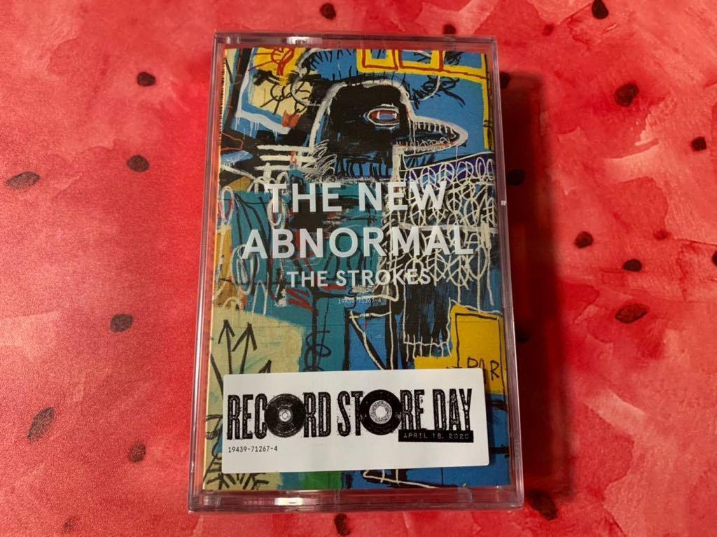 新品未開封 入手困難限定盤 カセットテープ Strokes ストロークス THE NEW ABNORMAL 輸入盤 即決 送料無料_画像1