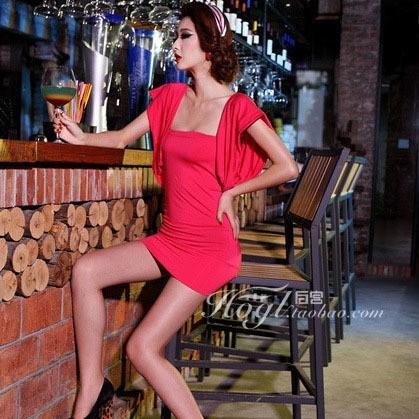コスプレ セクシー キャバ嬢 ミニスカ ワンピース レースクィーン おしゃれドレス ショーツ付き 新色レッド【見直し価格 激安中】