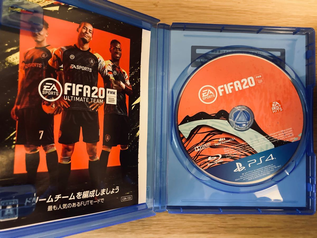PS4 FIFA20 通常盤