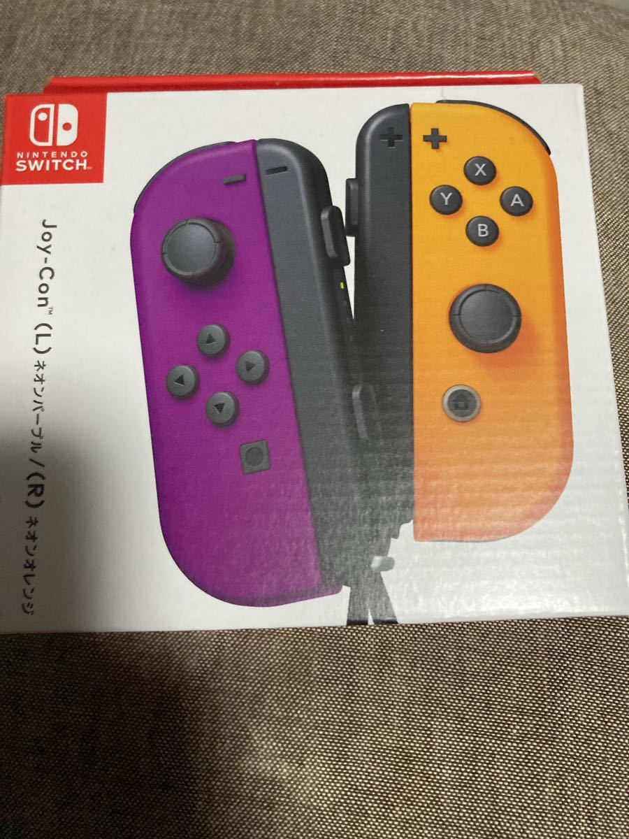 Nintendo Switch ジョイコン Joy-Con ネオンパープル