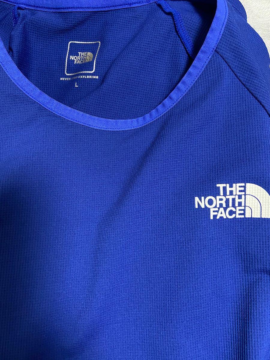ノースフェイス  Tシャツ ブルー L THE NORTH FACE ザ・ノース・フェイス