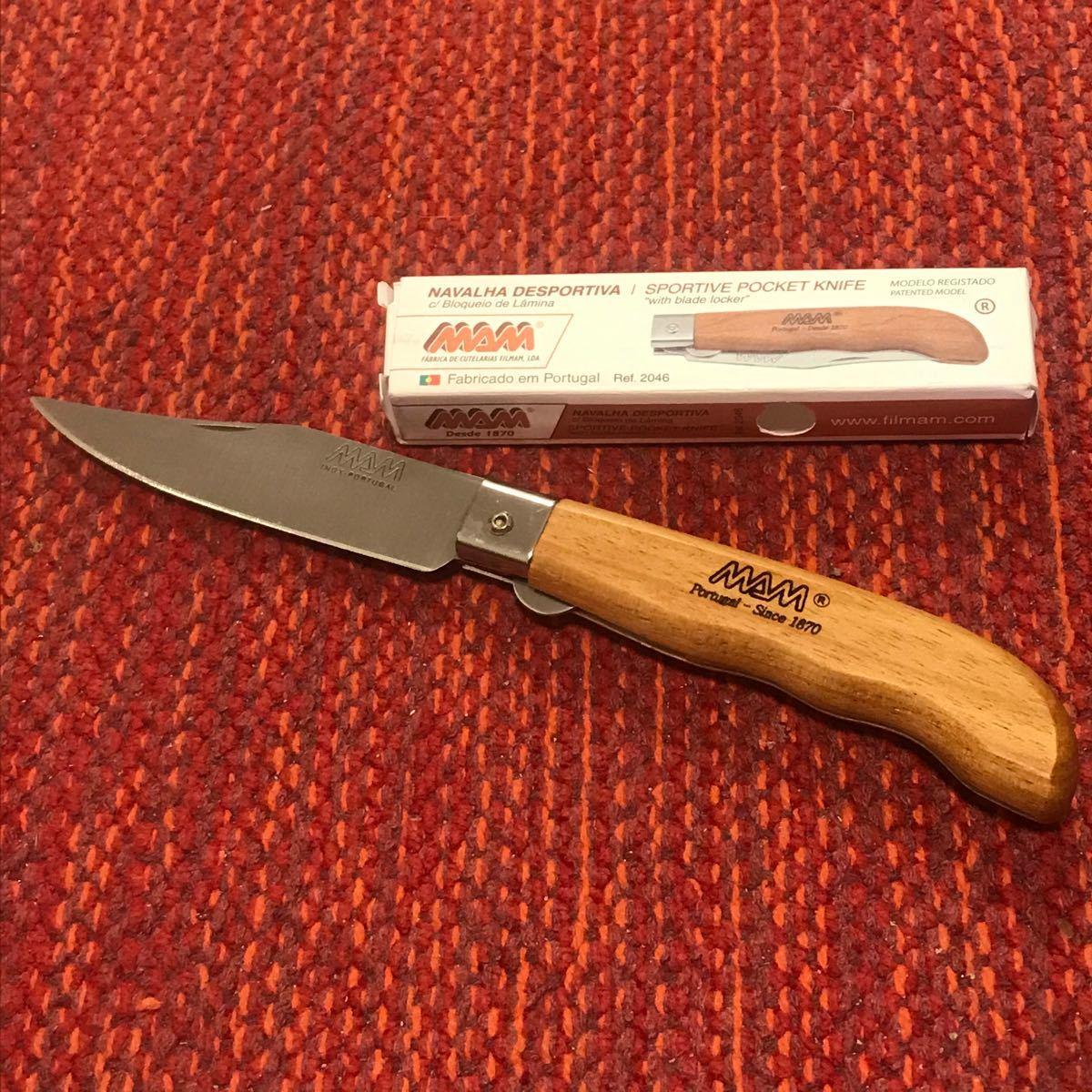 ラスト1本SALE! MAM Chapa マム シャーパ フォールディングナイフ 折りたたみナイフ レア