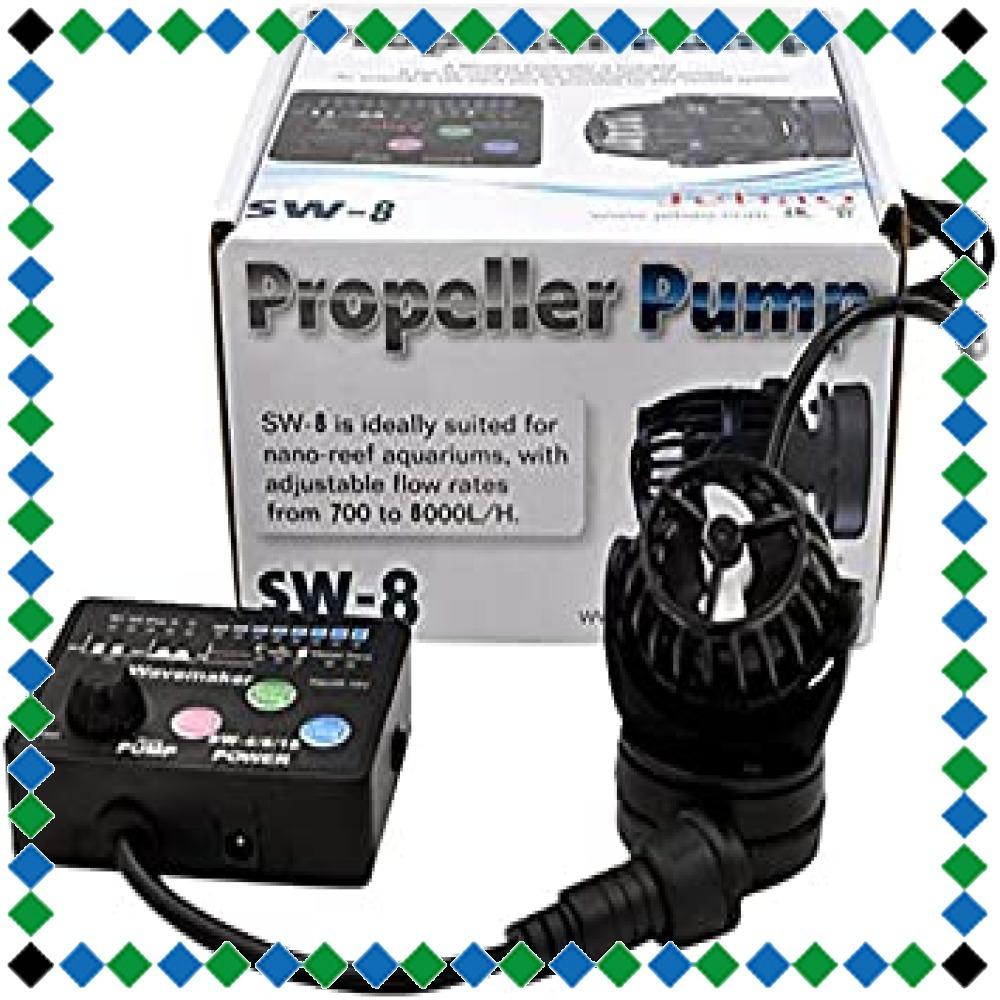 SW8(8000L/H) METIS ウェーブポンプ 水流ポンプ 水中ポンプ 水槽ポンプ アクアリウム ワイヤレス 回転式 水槽_画像1