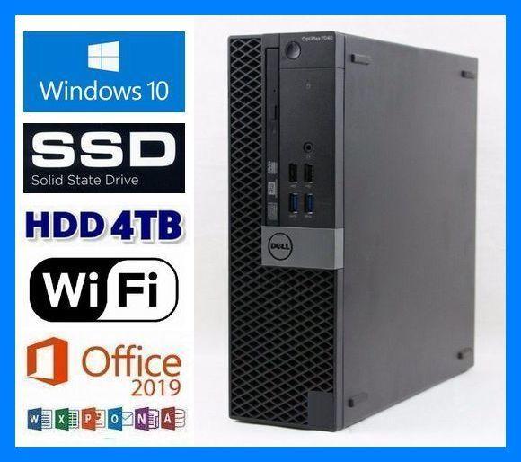 第6世代i7-6700K(4.20GHz×8)◆大容量メモリ32GB◆新品SSD 1TB◆新品HDD 4TB◆USB3.0◆HDMI◆DP◆Wi-Fi(無線LAN)◆Win10◆MS Office 2019_画像1
