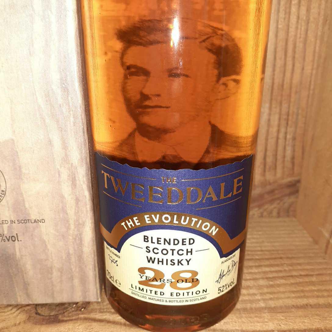 [定価18000] 新品未開封 Tweeddaleザトゥイーデル 28年 The Evolution 700ml 1本 ハイランド スコッチウイスキー_画像2