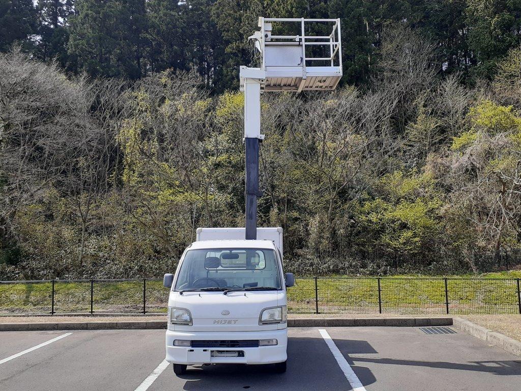 「ハイゼット 4WD 高所作業車 タウンマスター★アイチ SM05A 4.5m★軽4ナンバー★福井発」の画像2