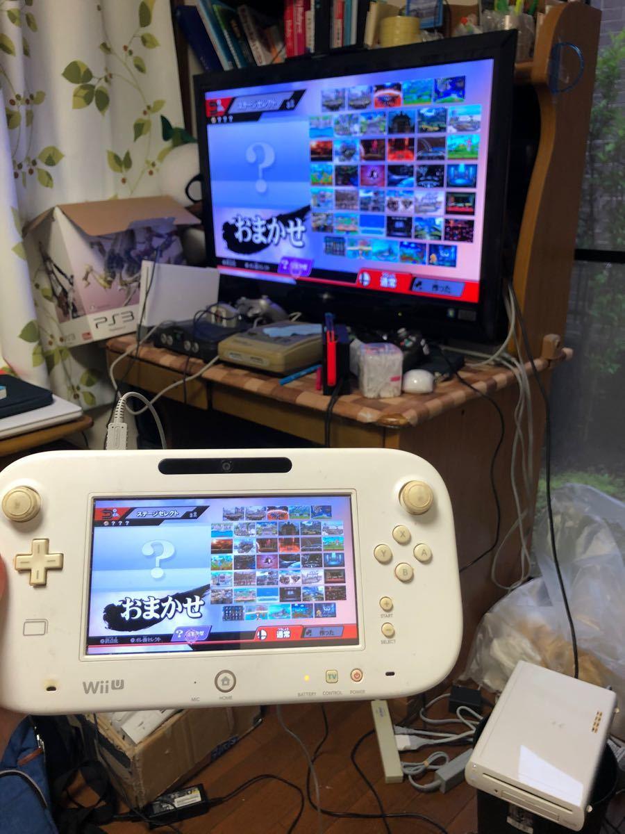 WiiU本体とゲームパッド