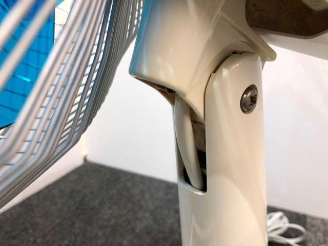 【送料無料!】HITACHI/日立 レトロ扇風機 D-30TD「さわ風」 昭和/アンティーク 換気/家電/動作確認済 札幌引取り歓迎 中古品_画像5