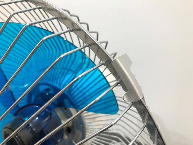 【送料無料!】HITACHI/日立 レトロ扇風機 D-30TD「さわ風」 昭和/アンティーク 換気/家電/動作確認済 札幌引取り歓迎 中古品_画像7