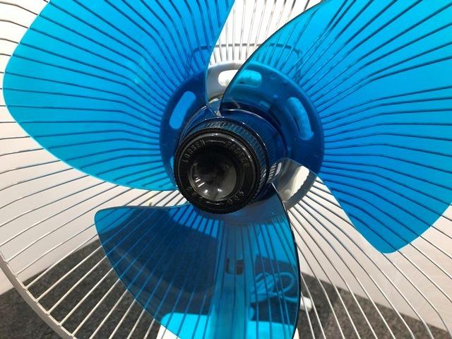 【送料無料!】HITACHI/日立 レトロ扇風機 D-30TD「さわ風」 昭和/アンティーク 換気/家電/動作確認済 札幌引取り歓迎 中古品_画像8